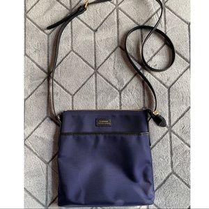 Polo Ralph Lauren navy blue fabric crossbody bag